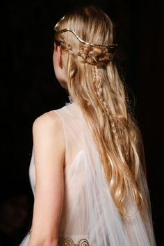 The Couture Hairstyle Reinventing Romance