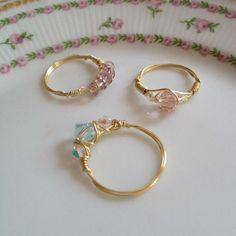 Diy Rings, Cute Rings, Pretty Rings, Cute Jewelry, Jewelry Rings, Jewelery, Jewelry Accessories, Jewelry Ideas, Bridal Jewelry