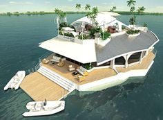 Fancy Your own Floating Island?.