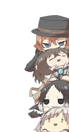 Anime Yaoi Fanart - Lưu Trữ - Bungou Stray Dogs: Dazai - Chuuya - Akutagawa - Atsushi - Page 3 - Wattpad Anime Chibi, Manga Anime, Anime Art, Bungou Stray Dogs Wallpaper, Dog Wallpaper, Cute Anime Wallpaper, Dazai Bungou Stray Dogs, Stray Dogs Anime, Bungou Stray Dogs Atsushi
