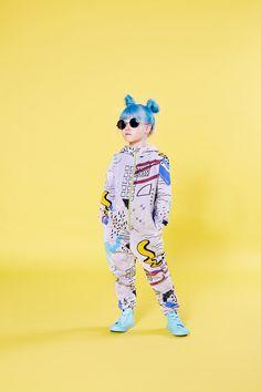 Mainio. Sketchbook jumpsuit. £55 #jumpsuit #kidsclothing #onepiece