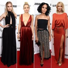 The GLAMOUR Awards 2015: All The Pics