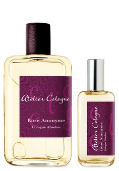 Rose Anonyme Cologne Absolue by Atelier Cologne | Luckyscent