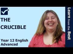 √ The Crucible - Area of Study: Belonging - Arthur Miller - HSC English Advanced, Standard Prime Online Tutor explains about the Curcible.   For more videos, please visit http://www.primeonlinetutor.com/elh ELH5C1 http://youtu.be/IR2k7alSslg