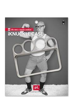 Brass Knuckles iPhone Case #productdesign
