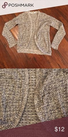 Grey knit cardigan Light weight grey sweater used only a few times Sweaters Cardigans