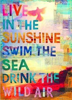 sunshine-sea-air