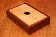Items similar to Legged Pencil Box in Figured Hardwoods on Etsy