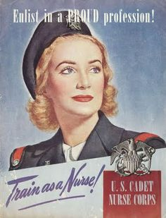The US Cadet Nurse Corps were a group of spectacular women!