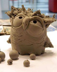 1740 likes, 17 commentaires - V 4 Ruki (@ sur ., 1740 likes, 17 commentaires - V 4 Ruki (@ sur . - likes, 17 commentaires - V 4 Ruki (@ sur . Clay Birds, Ceramic Birds, Ceramic Animals, Clay Animals, Ceramic Pottery, Pottery Art, Ceramic Art, Porcelain Ceramic, Slab Pottery