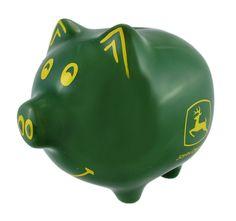 John Deere Piggy Bank