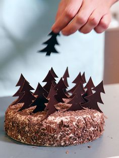 Foret Noire / Black Forest Cake :)