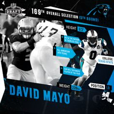 Carolina Panthers David Mayo LIMITED Jerseys