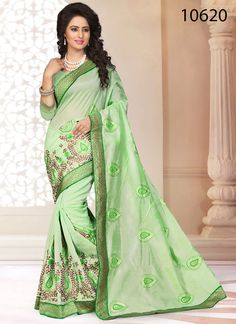Party Ethnic Indian Bollywood Designer Dress Pakistani Saree Sari Wedding Sheefa…