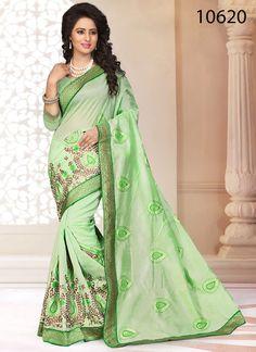 Party Ethnic Indian Bollywood Designer Dress Pakistani Saree Sari Wedding Sheefa…