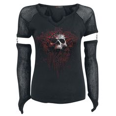 Death Blood - Girls longsleeve by Spiral - Article Number: 291053 - from 26.99 € • EMP