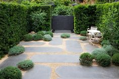 Peter Fudge - Classic French Garden Landscape Design and Installation - Gardening Modern Landscape Design, Garden Landscape Design, Modern Landscaping, Outdoor Landscaping, Landscaping Design, Modern Patio, Backyard Patio, Small Gardens, Outdoor Gardens