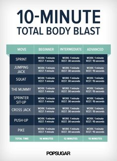 No matter how busy you may be, you can totally squeeze in this fat-blasting…