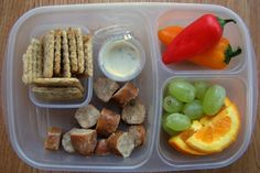 Lunch Box Ideas for Adults | Yummy Lunch Ideas - Yummy Lunch Box Gallery - Easy Lunch Boxes, Bento ... Yummy Lunch Box, Easy Lunch Boxes, Lunch Snacks, Healthy Snacks, Healthy Eating, Lunch Menu, Whats For Lunch, Lunch To Go, Lunch Time