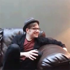 me when someone is talking about fall out boy
