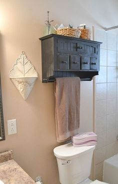 10 Chic and Clever Diy Ideas For Small Bathrooms 10