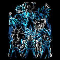 Transformations of King Mo Anime & Manga Poster Print Dragon Ball Image, Dragon Ball Gt, Goku Wallpaper, Day Of The Shirt, O Pokemon, Tribal Butterfly, Poster Prints, Fan Art, Images Of Goku