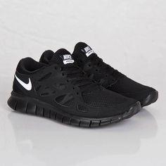 478937a44ef7 Nike Free Run 2 NSW Black Mens Running Shoes 540244-013 9.5