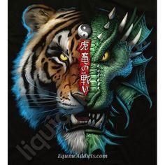 Dragon Vs Tiger | Crusox