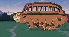 Studio ghibli,my neighbor totoro,hayao miyazaki Cat Bus Totoro, Totoro Movie, Studio Ghibli Art, Studio Ghibli Movies, Hayao Miyazaki, Chat Bus, Nausicaa, Studio Deen, Best Zombie