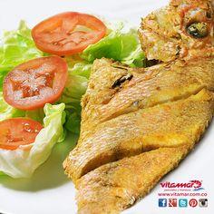 Disfruta este fin de seman de un delicioso #Pescado en la presentación que mas te guste #AlimentateSanamente con @VitamarPescados www.vitamar.com.co