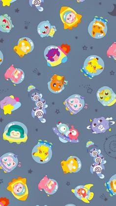 Cute Pokemon Wallpaper, Cute Disney Wallpaper, Kawaii Wallpaper, Cute Cartoon Wallpapers, Animes Wallpapers, Pokemon Halloween, Pokemon Backgrounds, Cute Backgrounds, Mega Pokemon