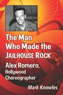 """Alex Romero choreographed """"Double Trouble"""" and """"Clambake"""" in 1967 as well as """"Speedway"""" the next year.  Their most memorable collaboration -  """"Jailhouse Rock"""" in 1957.    The production number for the movie's title song was Presley's first choreographed routine,  """"I guess he thought that I was going to give him some slick dancing steps,"""" Romero said in the book, 'Down at the End of Lonely Street' """"I chose steps that were foreign to him, but that were also like him, so he could pick them up."""""""