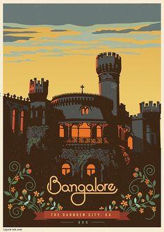 Travel Postcards Posters by Ranganath Krishnamani, pined from Toni Wheeler