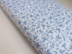 Fat Quarter Timeless Treasures Bella Blue Rose by BlackBirdFabrics Fat Quarters, White Patterns, Quilting Projects, Fabrics, Buy And Sell, Blue And White, Quilts, Sewing, Store