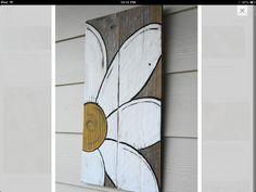 Reclaimed Barn Wood daisy