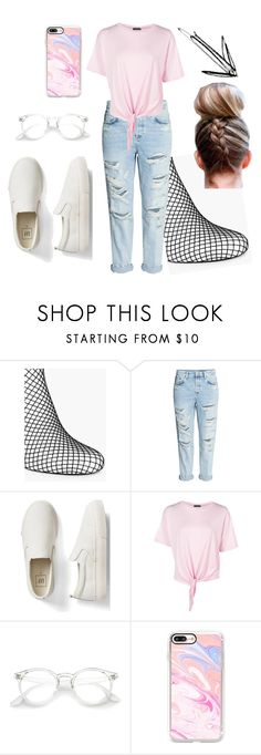 """""""Tumblr comfy set"""" by jamroxoxo on Polyvore featuring moda, Boohoo, Gap i Casetify"""
