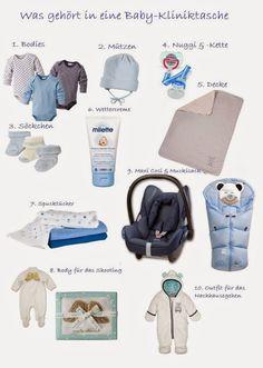 Kliniktasche vor Geburt