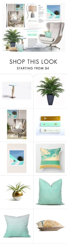 """""""Silent dreamer."""" by rugile-pp ❤ liked on Polyvore featuring interior, interiors, interior design, home, home decor, interior decorating, Parlor, Urban Outfitters, DENY Designs and Zuo"""