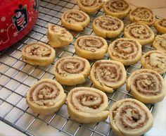 Cinnamon Sugar Pinwheel Cookies.  Great for a cookie exchange.  Yummy