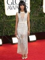 Good As Gold: The Globes' Best Dressed Stars #refinery29