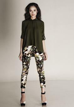 summer/printed pants