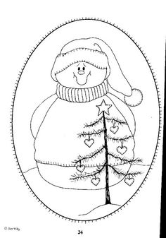 31[1]Snowman coloring page.JPG (447×640)