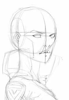 Sketch Hair How to Draw Comics Manga Drawing Tutorials, Drawing Techniques, Art Tutorials, Pencil Art Drawings, Art Drawings Sketches, Comic Book Drawing, Drawing Heads, Anatomy Sketches, Human Figure Drawing