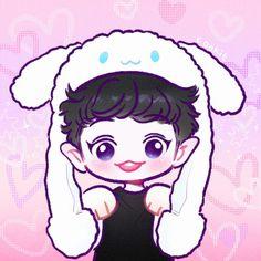 Chanyeolie Fanart by Cookie ✨❤ Exo Cartoon, Cartoon Art, Chanbaek Fanart, Exo Stickers, Exo Anime, Exo Fan Art, Exo Chanyeol, Bts Chibi, Kpop