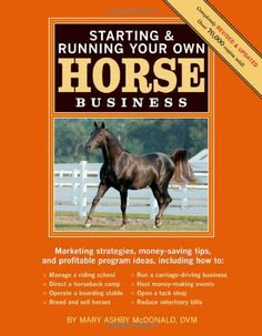 Starting  Running Your Own Horse Business: Marketing strategies, money-saving tips, and profitable program ideas