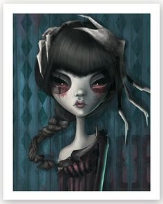 Scorpio - Afterland character( Elin Jonsson )for Imaginary Games Dark Art Illustrations, Illustration Art, Scorpio Art, Zodiac Scorpio, Unique Drawings, Art Drawings, Hippie Painting, Arte Horror, Horror Art