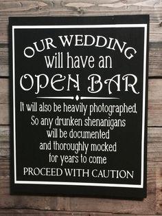 Wedding Sign Rustic Wedding Sign Wedding by SawdustAndSparklesRM