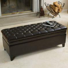 Cunningham Upholstered Storage Bench