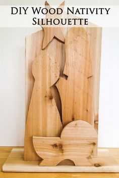 DIY Wooden Nativity