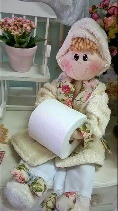 Boneca banheiro